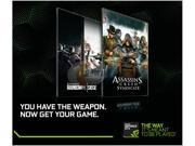 NVIDIA Bullets or Blades Game Code - Choose Tom Clancy's Rainbow Six Siege or Assassin's Creed Syndicate
