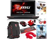 "MSI GT72S Dominator Pro G-220 17.3"" Gaming Laptop - Core i7-6820HK (2.7 GHz), 32 GB Memory, 1 TB HDD + 256 GB SSD, GTX 980M + Gaming Bundle"