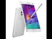 "Samsung Galaxy Note 4 SM-N910H White (unlocked international model) 5.7"", 32GB"