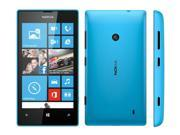 "Nokia Lumia 520 Blue RM-914 (FACTORY UNLOCKED) 4"" IPS 8GB 5MPDual-Core"