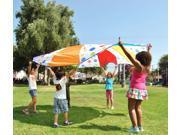 eWonderWorld Children's Wonder Play Tent Parachute 10 feet 6 Colors Polka Dot Design-FREE MYSTERY GIFT 9SIA5841YS0199