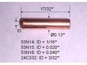 5-pk TIG Welding Torch Collet 53N15 (0.020