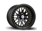 AVID.1 AV-12 15x8 4x100 ET25 Wheels Rims Fit EJ Honda Civic 92-95 Miata E30