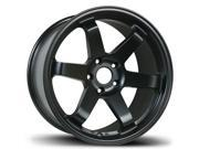 AVID1 Wheels AV06 17x9 +42Offset 5x114.3 (MATTE BLACK) 240sx RSX TL STI EP3 CIVIC