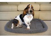 Iconic Pet Premium Synthetic Sheepskin Handy Bed Grey XXlarge