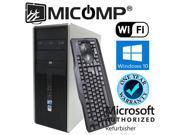 HP Dc 7900 Tower Core 2 Duo Dual Core 2.93Ghz 8GB 500GB DVDRW WiFi Windows 10 Home 64 Bit