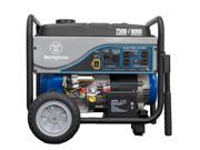 Westinghouse Portable Generator 7500 Running Watts, 9000 Starting Watts  with Electric Start. Includes Battery.