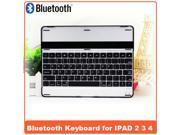 AIYZE Bluetooth 3.0 Verstion For iPad 2 3 4 Cases HT- P2092 Bluetooth Keyboard Wireless Ultrathin  Aluminum Keyboard Gaming wireless keyboard case New Arrive!  Quality-Black
