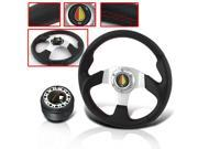 1992 MAZDA MIATA INTERIOR COMBO STEERING WHEEL WITH ADAPTER HUB AND HORN BUTTON