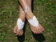 2PC Barefoot Crochet Sandals Bohemian Beach Wed Yoga Dancing Foot Jewelry Anklet 9SIA5B51NJ7928
