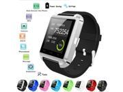 Bluetooth Smart Wrist Watch Phone Mate For IOS Android iPhone Cellphone