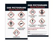BRADY 133208 Safety Card, Laminated Paper, English, PK10