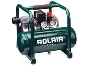 ROLAIR JC10 Air Compressor, 1 HP, 115V, 125 psi