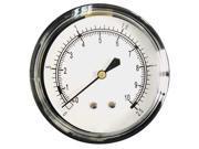 Pressure Gauge 1 4 NPT 0 to 15 H2O 2 1 2 18C799