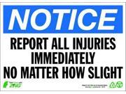 Notice Sign, Zing, 2134A, 10