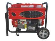 DAYTON 21R166 Portable Generator Rated Watts6500 420cc