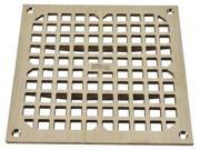 JAY R. SMITH MFG. CO 3100G Sanitary Drains Grate