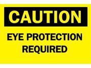 BRADY 47050 Caution Sign, 10 x 14In, BK/YEL, Fiberglass