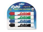 EXPO 83174K Marker,Dry Erase,Chisel,PK4