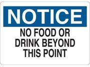 Notice Sign, Condor, 35GC75, 7