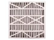 BESTAIR PRO 5-1625-11-2 Air Cleaner Filter, 25x16x5, MERV11, PK2 9SIA0SD5C70903
