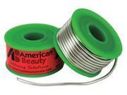 AMERICAN BEAUTY CSPBF2 Solder Wire, 12 ft. L, Metallic Silver