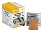 FIRST AID ONLY G126 Fingertip Bandage, Fabric, 3-1/2inL, PK40