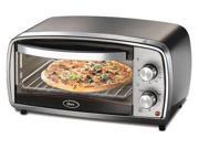 Oster 4-Slice Toaster Oven Stainless-Steel TSSTTVVGS1