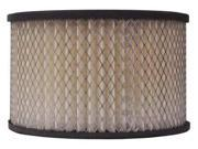 LUBERFINER LAF121 Air Filter, Axial, 3-13/16in.H. 9SIV0HA3HH0954