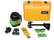JOHNSON 406544 Rotary Laser Level, Int, Green, 1200 ft.