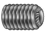 "Socket Set Screw, Steel, Knurled Cup, Hex, Drive 3/16"""", 3/8-16, .375"""", OAL 1"""""" 9SIV0HA3VB8507"