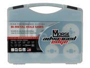MORSE MK7700G Hole Saw Kit Bi Metal 11 pc.