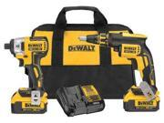 DEWALT DCK262M2 Cordless Combination Kit,20V G0093488