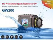1.5-inch Full HD 1080P Helmet Camera Waterproof Sport DV WIFI Camcorder Action Mini Camera