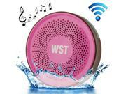 Wireless Speaker Suction Cup Waterproof Speaker WST-827 A2DP V3.0 Bathroom Audio Hands-free Water Resistant Sucker Bluetooth Speaker 9SIA5DR20R4761