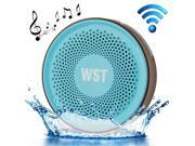 Wireless Speaker Suction Cup Waterproof Speaker WST-827 A2DP V3.0 Bathroom Audio Hands-free Water Resistant Sucker Bluetooth Speaker 9SIV0XU56Y6702