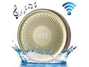 Wireless Speaker Suction Cup Waterproof Speaker WST-827 A2DP V3.0 Bathroom Audio Hands-free Water Resistant Sucker Bluetooth Speaker 9SIA5DR20R4770
