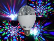3W E27 Crystal Auto Rotating LED Bulb Full Color Mini Stage DJ Lamp Light 9SIA5DR2JT2920