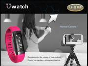 Bluetooth Smart Watch New U9 USee U Watch Wrist Smartwatch Pedometer Anti Lost For iPhone Samsung HTC Huawei Xiaomi Smartphone