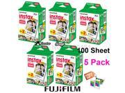 100 White Sheets Fuji Fujifilm Instax Mini 9 Film For Instax Mini 8 9 50s 7s 7 90 25 Share SP-1 SP-2