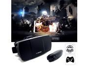 Virtual Reality 3D Video Glasses for 4.7 -6 inch Smartphone Head Mount 3D Glasses HoloLens Game Bluetooth Remote Controller