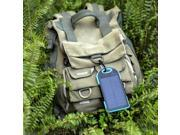 12000 Portable Outdoor Solar Power Bank External Battery With LED Light Power Charger For Phone Laptop Tablet PC