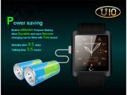 U10 Waterproof Smartwatch BT 3.0/4.0 Intelligent Wearable For iPhone iOS Samsung Android OS