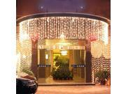 LED Light Strip Meteor Shower Rain Tube Snowfall LED Strip Light White Outdoor Decoration LED Light christmas lights 1000Leds Light 110V