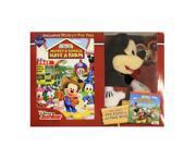 Disney Junior Mickey Mouse - Mickeys Fun Pack (Plush + Book + DVD) Bundle