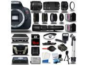 Canon Rebel T5i +18-55 STM + 75-300 + 50mm + 500mm Zoom - 6 Lens Kit Bundle + 16GB + Case New