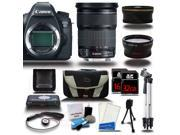 Canon EOS  6D DSLR Camera + 24-105mm IS STM Lens + 48GB + 16 PCS Starter Bundle Kit - NEW