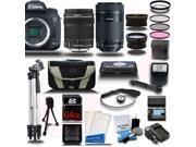 Canon EOS 7D Mark II DSLR Camera with 18-135mm + EF-S 55-250mm STM 4 Lens Camera Kit + 64GB