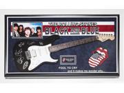 Rolling Stones - Black and Blue - Fool to Cry - Signed Guitar in Frame