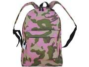 "17"" Backpack (Camo), Outdoor Backpack, Trekker Hiking Camping Bag, School Backpack thumbnail"